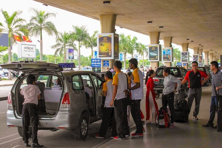 Taxi from Ho Chi Minh to Muine