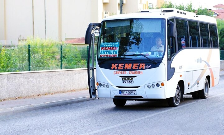 Antalya airport to Kemer bus