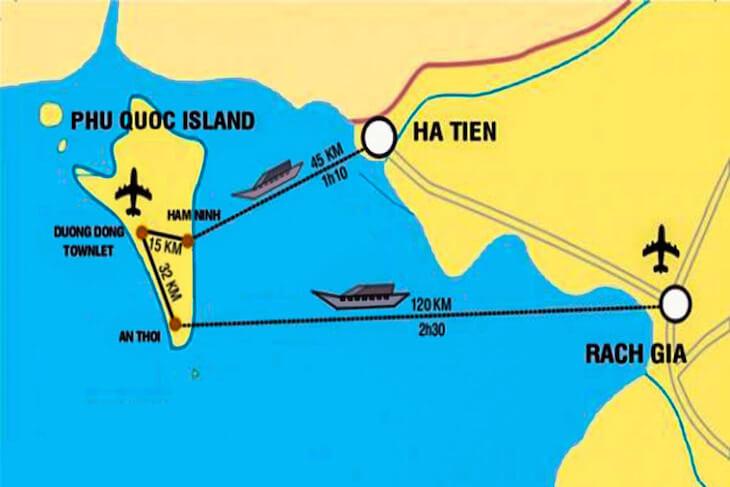Transfer through Ha Tien