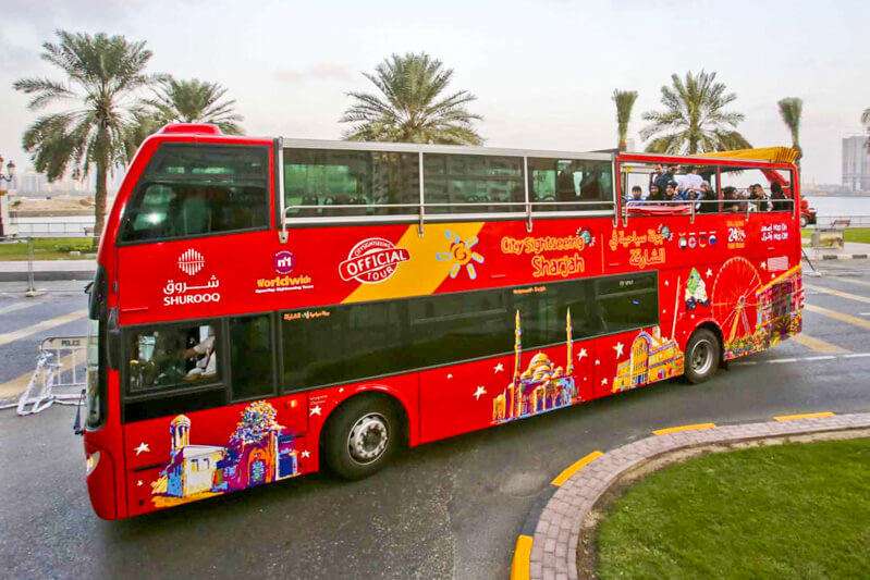 Bus from Dubai to Sharjah