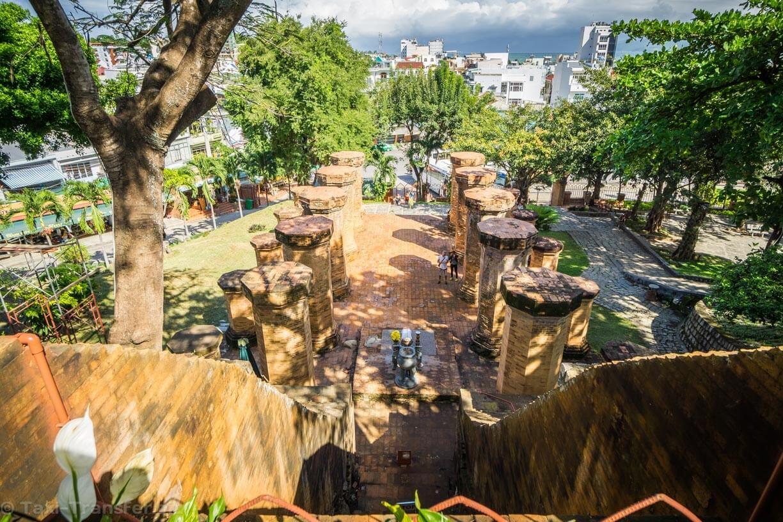 Nha Trang columns Ponagar