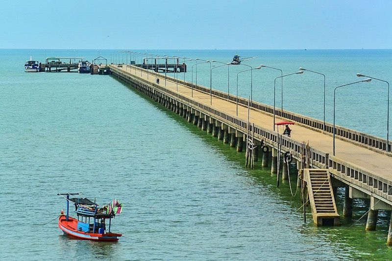 Laem Sok Pier - transfer from Pattaya