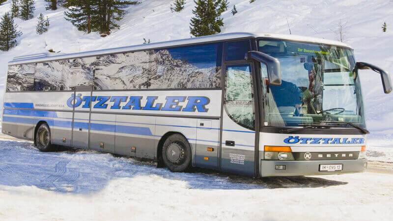 Bus to Serfaus (Zerfaus)