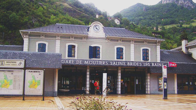 Moutiers Salins Train to Meribel