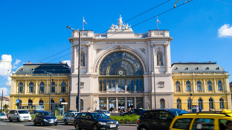 Transfer from Budapest to Heviz by train