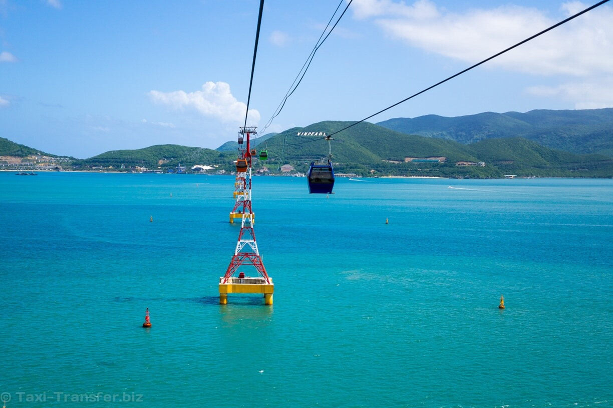 Cableway to Vinpearl Nha Trang from