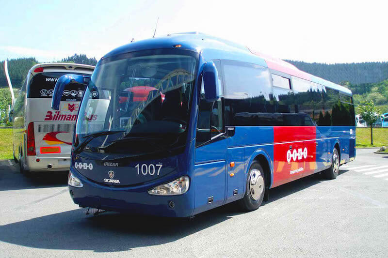 Bus from Tivat to Budva
