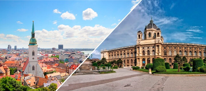 How to get from Bratislava to Vienna