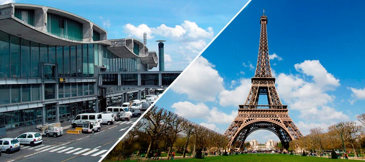 Transfer from Charles de Gaulle Airport to Paris