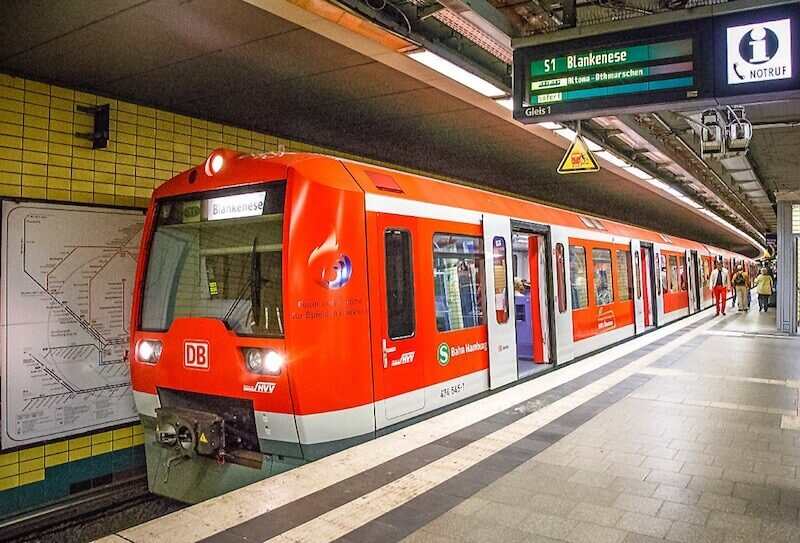 Electric train S-Bahn