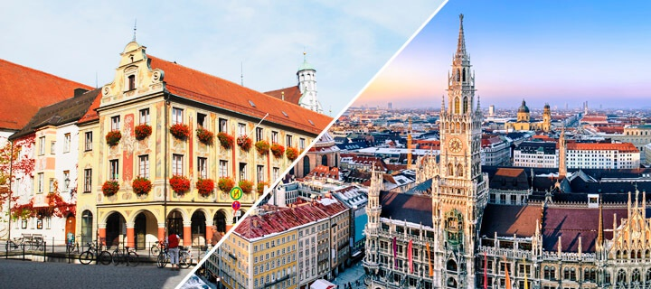 How to get from Memmingen airport to Munich