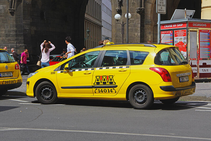 Taxi from Prague Airport to Prague