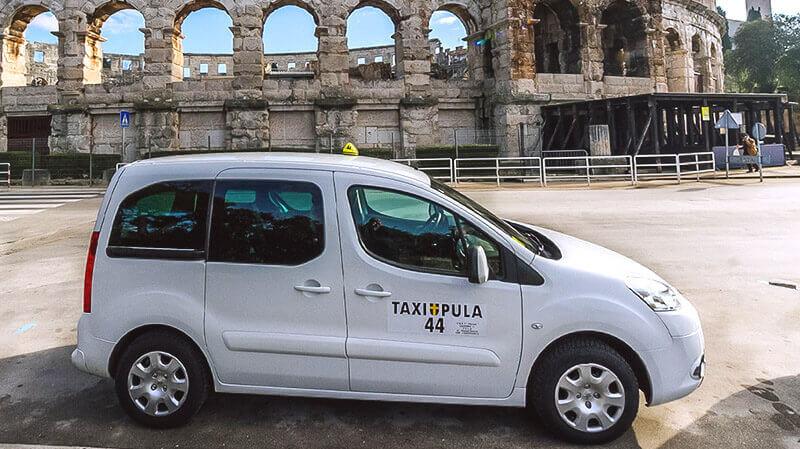 Taxi Pula - Porec