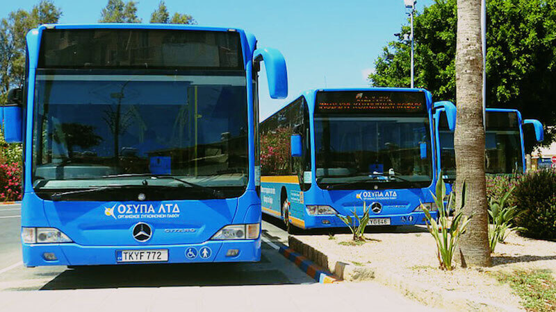 Bus from Larnaca to Ayia Napa