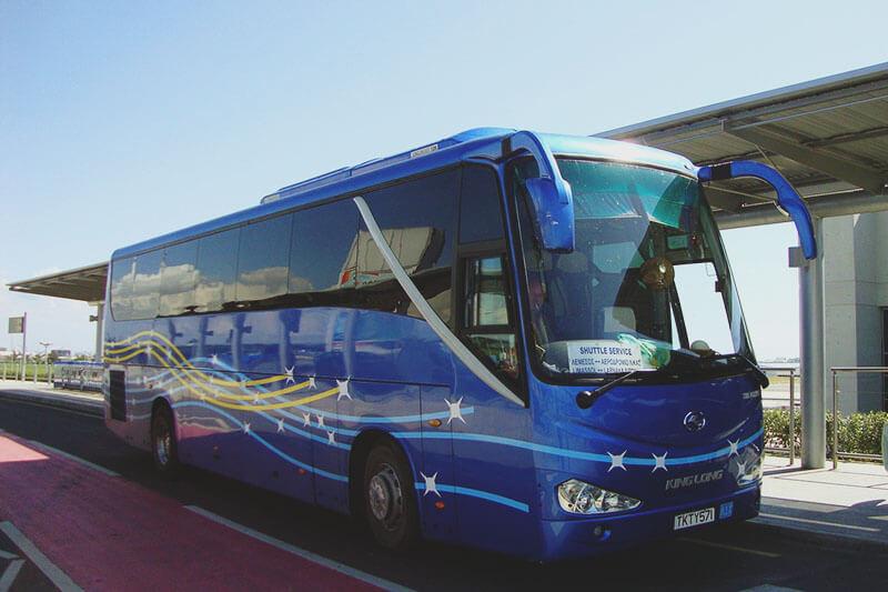 Автобус из аэропорта Ларнаки в Протарас