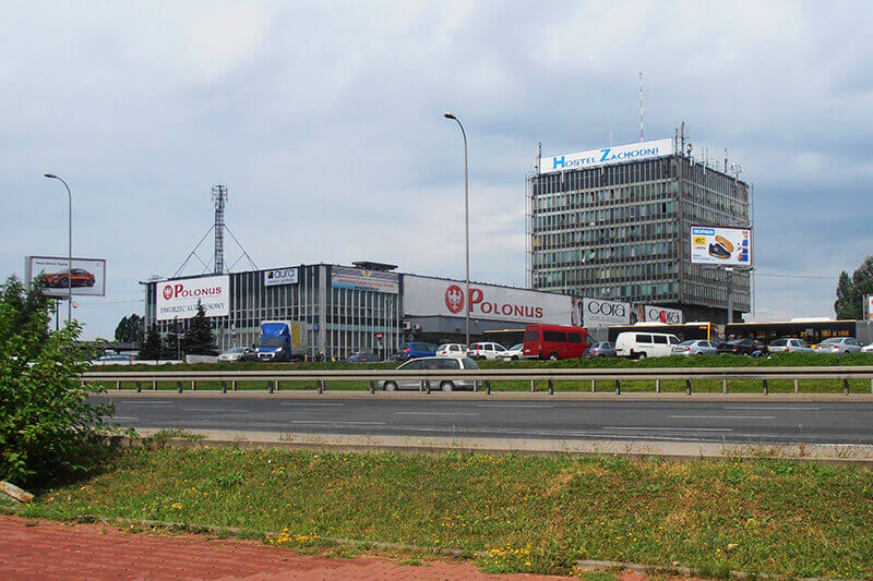 Bus station Zachodnia in Poland