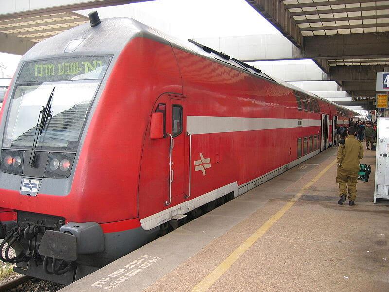 Железнодорожный вокзал в Бен-Гурион