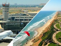 How to get from Ben Gurion Airport to Netanya