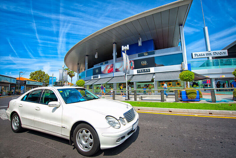 Taxi from airport to Tenerife