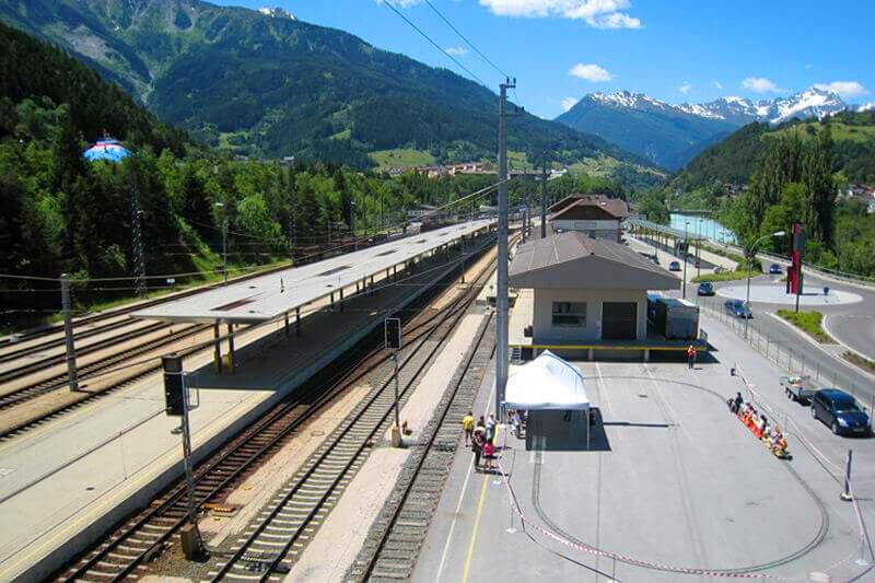 Railway station Landek-Zams