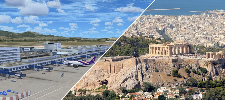 How to get from Athens Airport to the city?